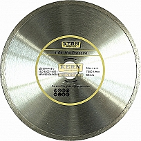 Алмазный диск KERN HOT PRESSED CONTINUOUS RIM серия 1.04